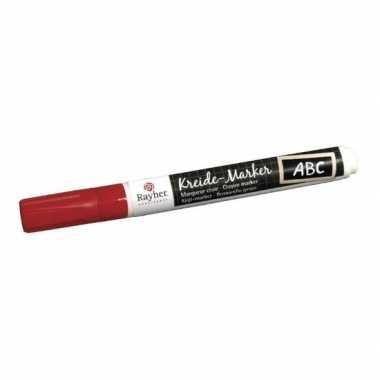 Rode hobby of knutsel raamstiften