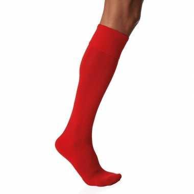 Rode hoge sokken 1 paar