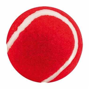 Rode honden speelbal