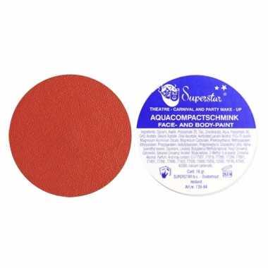 Rode huidskleur schmink superstar