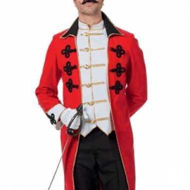 Rode kapiteins jas