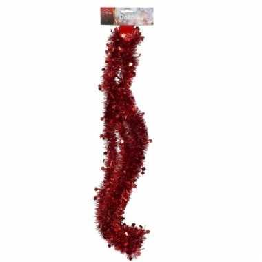 Rode kerstboom slinger 270 cm