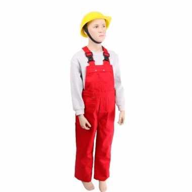 Rode kinder tuinbroek