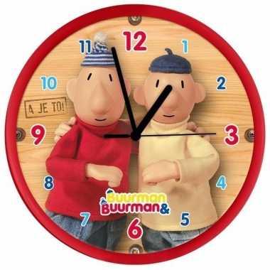 Rode klok buurman & buurman