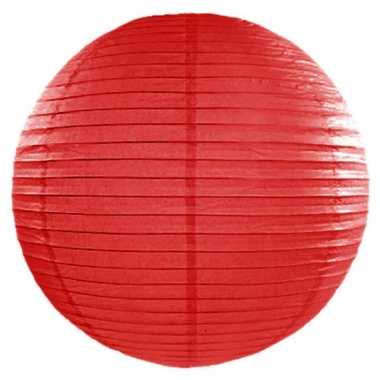 Rode lampion rond 50 cm