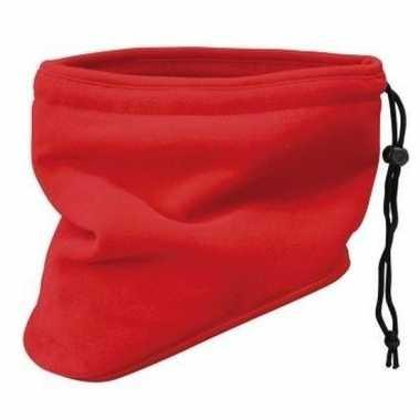 Rode nek sjaal van thinsulate