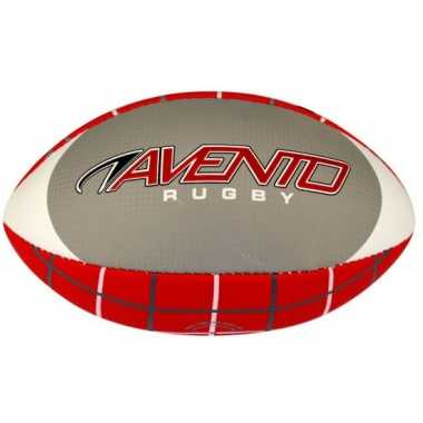 Rode rugby bal