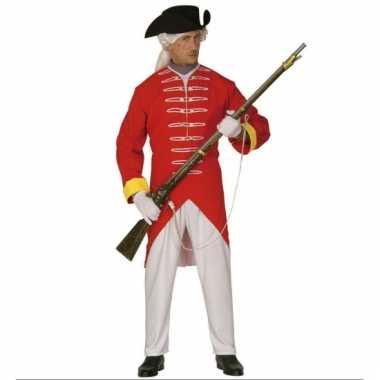Rode soldaten kostuum