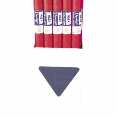 Rode tafelbedekking papier 800x118cm