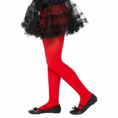 Rode verkleedlegging voor kinderen 6-12 jaar