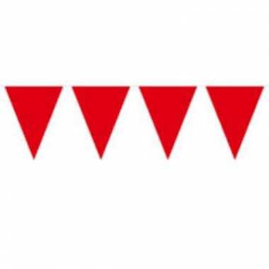 Rode vlaggenlijn 10 meter
