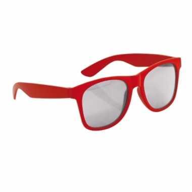 Rode wayfarer zonnebril voor kinderen