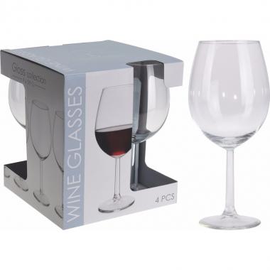 Rode wijn glazen 4 stuks 580 ml