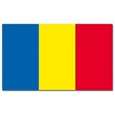 Roemeense vlag 90x150 cm