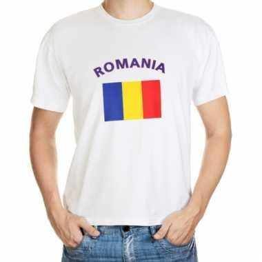 Roemenie vlag t-shirt