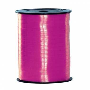 Rol lint in de kleur fuchsia roze 500 m