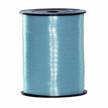 Rol lint in lichtblauwe kleur 500 m