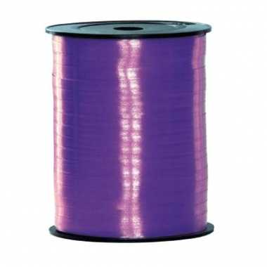 Rol lint in paarse kleur 500 m