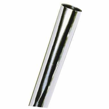 Rol metaalfolie zilver 50 x 80 cm