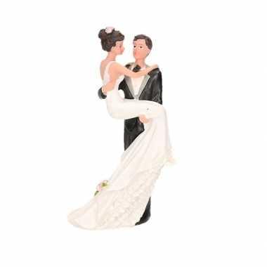 Romantische bruidstaartdecoratie 10cm