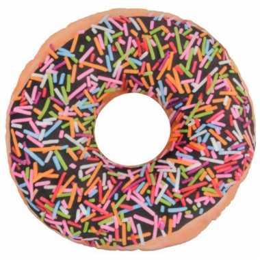 Rond donut kussen 36 cm