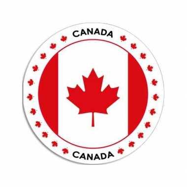 Ronde canada sticker