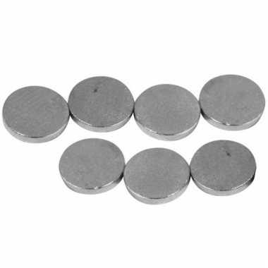 Ronde hobby magneten 40 stuks 6x1 mm