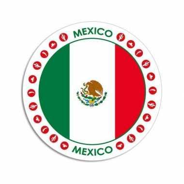 Ronde mexico sticker