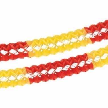 Rood/geel slingers 4 meter