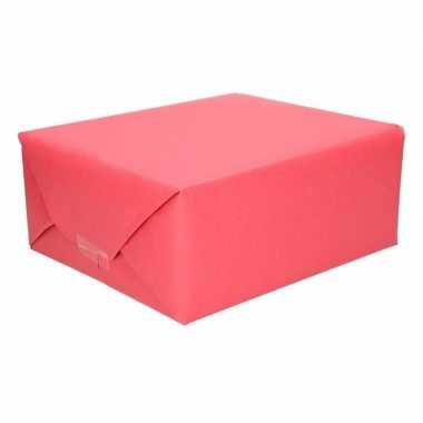 Rood kraftpapier 70 x 200 cm