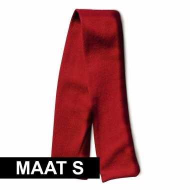 Rood shawltje voor knuffeldier s 32 x 4 cm