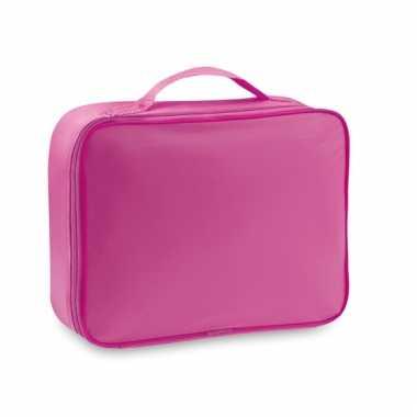 Roze akte koeltassen