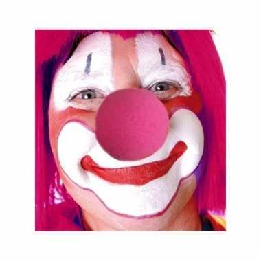 Roze clownsneus