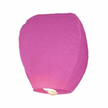Roze geluksballon
