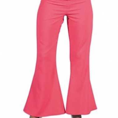Roze hippie dames broek