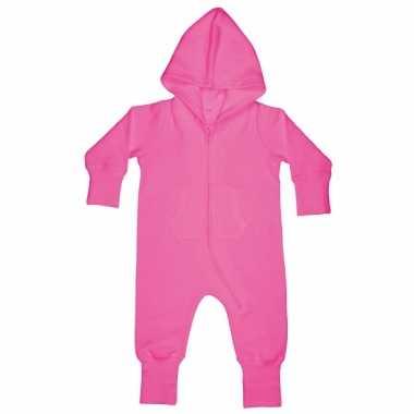 Roze huispak voor babies