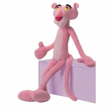 Roze knuffel pink panther 85 cm