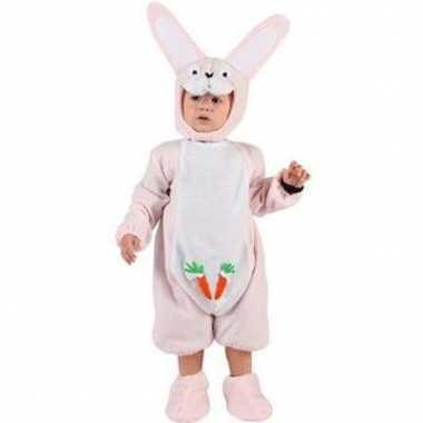 Roze konijntjespak voor babys