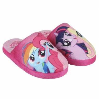 Roze my little pony sloffen voor meisjes