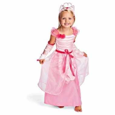 Roze prinsessenjurk voor kids