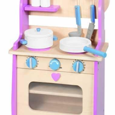 Roze speelkeuken voor meiden