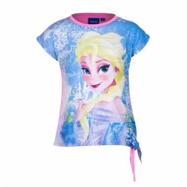 Roze t-shirt elsa en anna