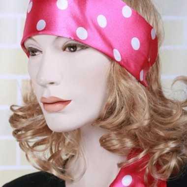 Roze taille riem voor dames