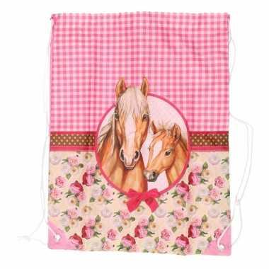 Rugtasje paarden thema type 1
