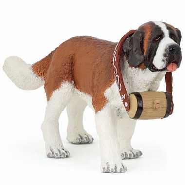 Saint bernard hond plastic