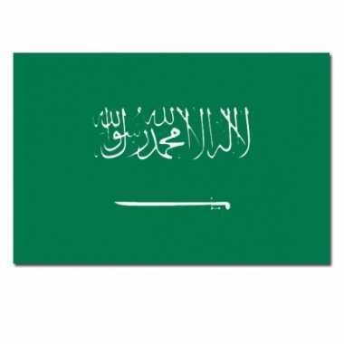 Saoedi arabische vlag 90x150 cm