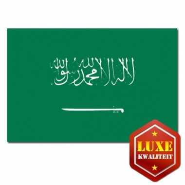 Saoedi arabische vlag goede kwalite