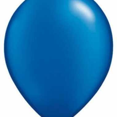 Sapphire blauw qualatex ballonnen