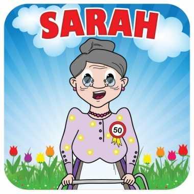 Sarah bierviltjes