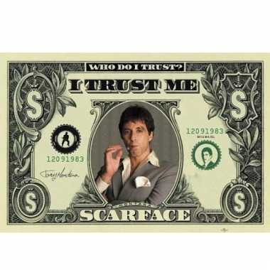 Scarface film poster 140 x 100 cm